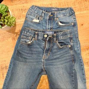 OLD NAVY 2 Boys Denim Jeans bundle
